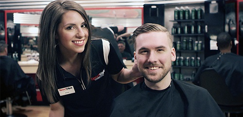 Sport Clips Haircuts of Burnsville​ stylist hair cut